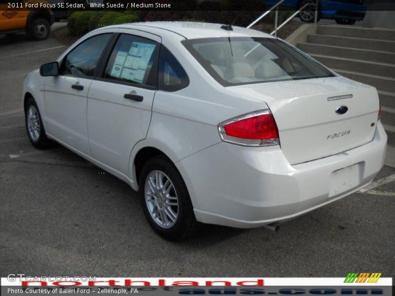2011 ford focus se sedan in white suede photo no 33229943. Black Bedroom Furniture Sets. Home Design Ideas