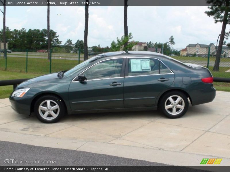2005 honda accord ex sedan in deep green pearl photo no. Black Bedroom Furniture Sets. Home Design Ideas