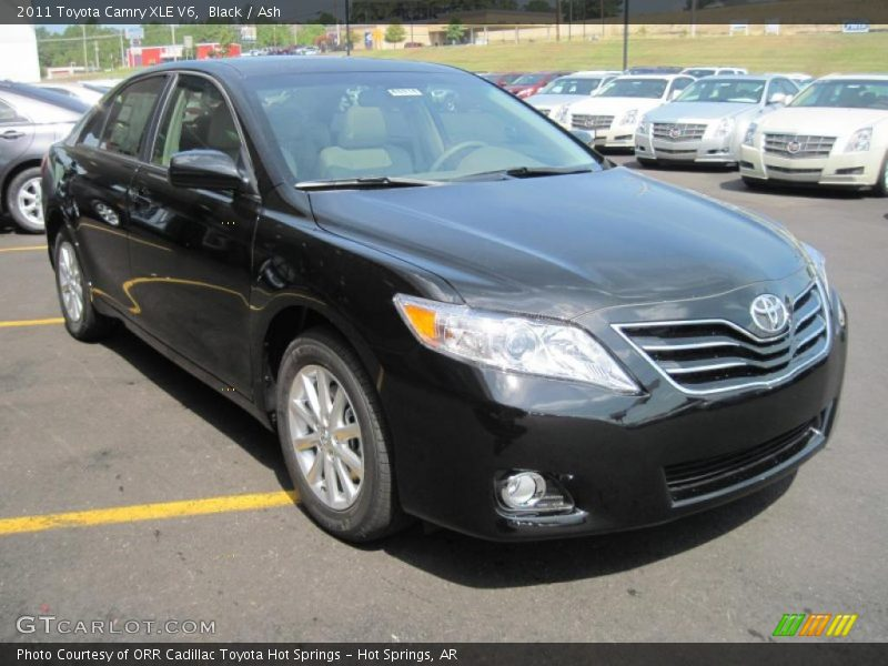 2011 toyota camry xle v6 in black photo no 33345152. Black Bedroom Furniture Sets. Home Design Ideas
