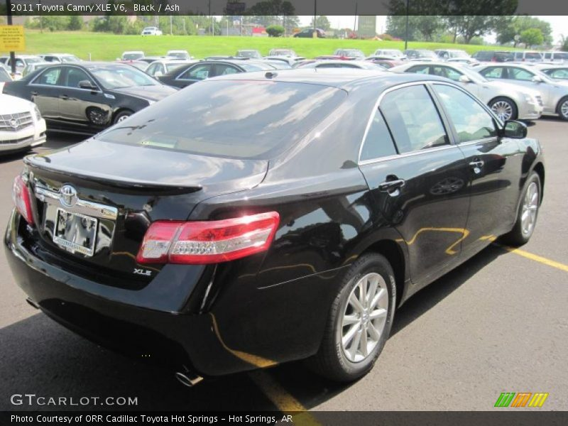 2011 toyota camry xle v6 in black photo no 33345252. Black Bedroom Furniture Sets. Home Design Ideas