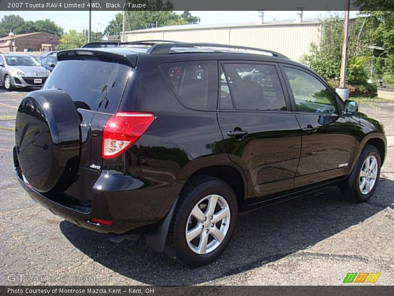 2007 toyota rav4 limited 4wd in black photo no 33375217. Black Bedroom Furniture Sets. Home Design Ideas