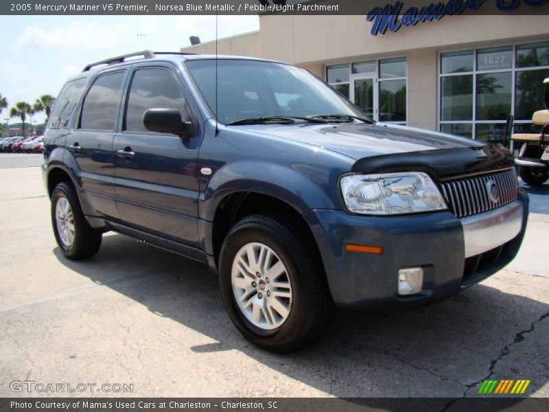 2005 mercury mariner v6 premier in norsea blue metallic. Black Bedroom Furniture Sets. Home Design Ideas