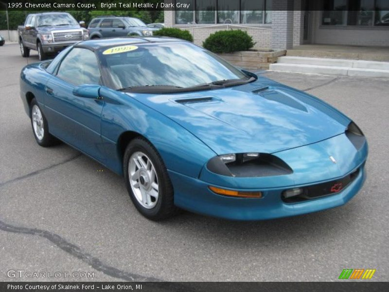 1995 chevrolet camaro coupe in bright teal metallic photo. Black Bedroom Furniture Sets. Home Design Ideas