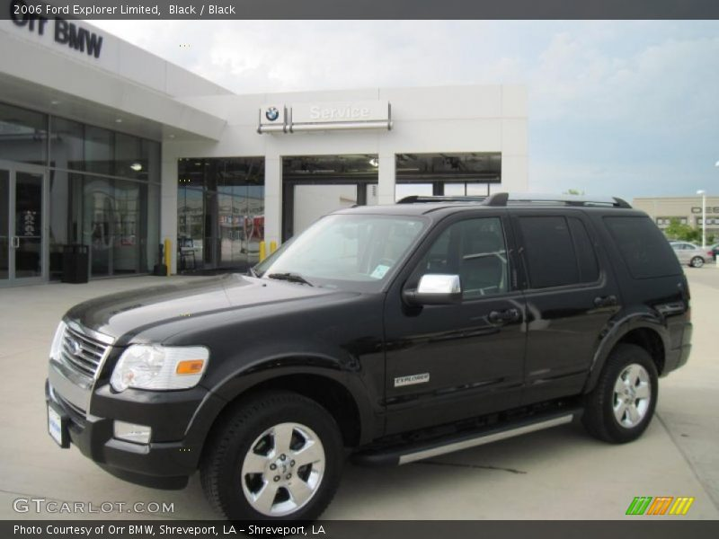 2006 Ford Explorer Limited In Black Photo No 33616890