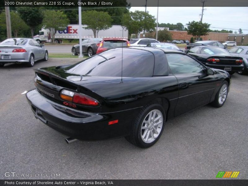 2000 chevrolet camaro z28 ss coupe in onyx black photo no. Black Bedroom Furniture Sets. Home Design Ideas