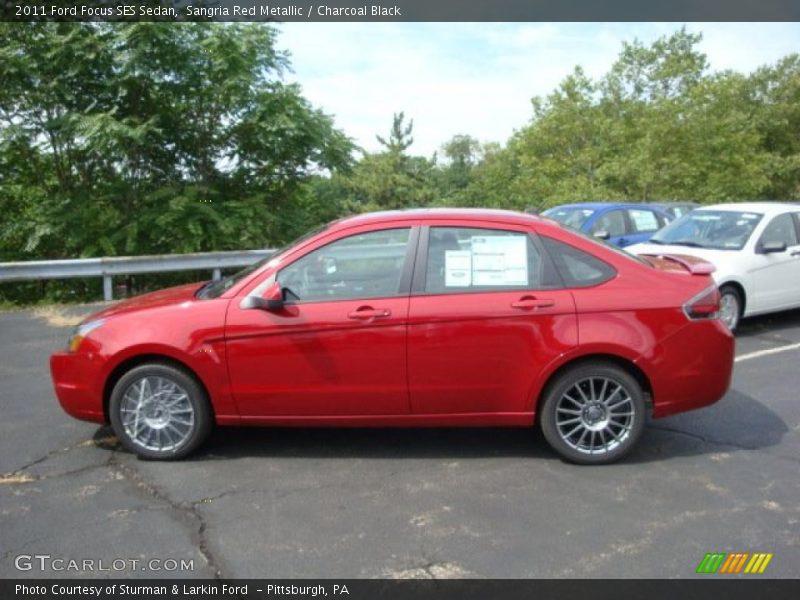 2011 ford focus ses sedan in sangria red metallic photo no. Black Bedroom Furniture Sets. Home Design Ideas