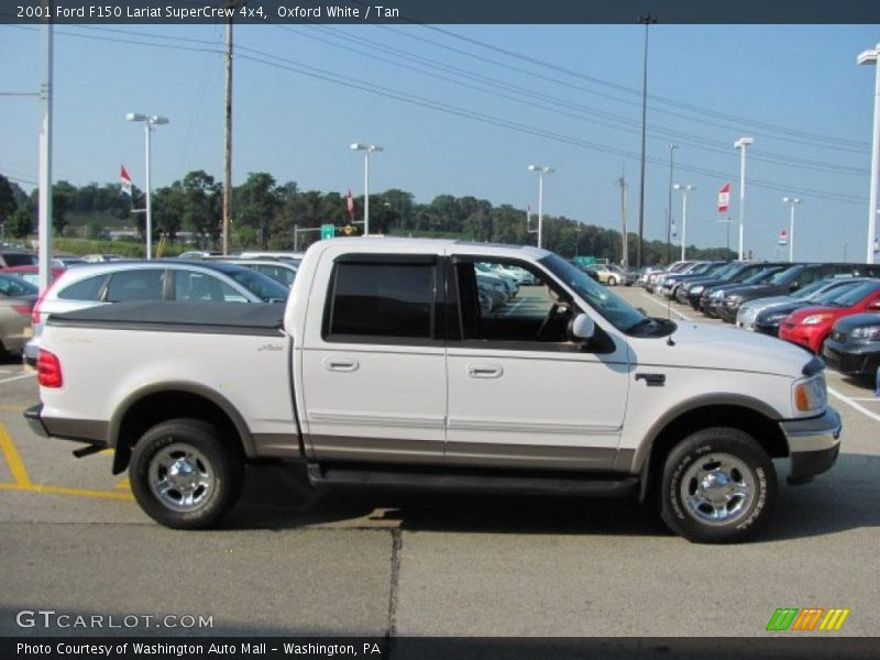 2001 ford f150 lariat supercrew 4x4 in oxford white photo no 33690054. Cars Review. Best American Auto & Cars Review