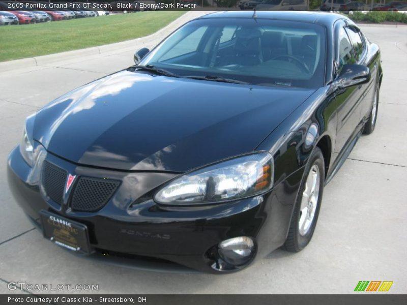 2005 pontiac grand prix gt sedan in black photo no 33759477. Black Bedroom Furniture Sets. Home Design Ideas