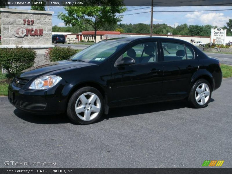 2007 chevrolet cobalt lt sedan in black photo no 33807782. Black Bedroom Furniture Sets. Home Design Ideas