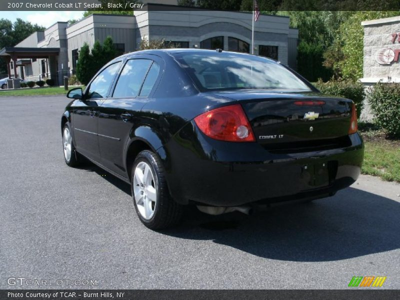 2007 chevrolet cobalt lt sedan in black photo no 33807822. Black Bedroom Furniture Sets. Home Design Ideas