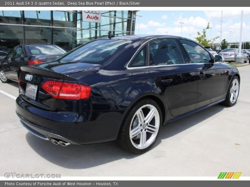 2011 audi s4 3 0 quattro sedan in deep sea blue pearl. Black Bedroom Furniture Sets. Home Design Ideas