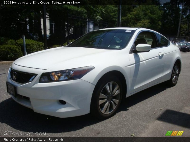 2008 honda accord ex l coupe in taffeta white photo no. Black Bedroom Furniture Sets. Home Design Ideas