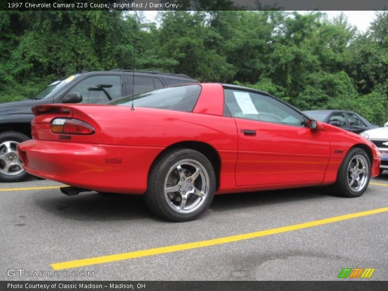 1997 chevrolet camaro z28 coupe in bright red photo no. Black Bedroom Furniture Sets. Home Design Ideas