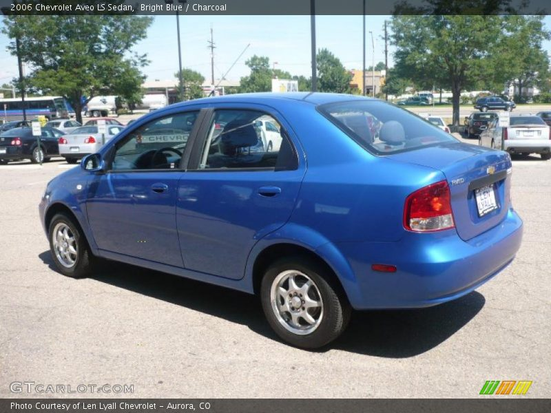 2006 chevrolet aveo ls sedan in bright blue photo no. Black Bedroom Furniture Sets. Home Design Ideas