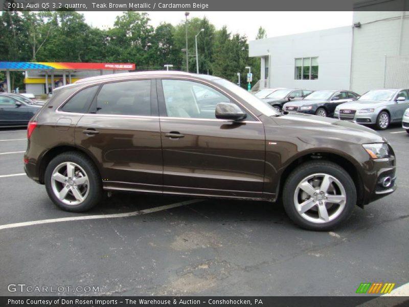 2011 Audi Q5 3 2 Quattro In Teak Brown Metallic Photo No