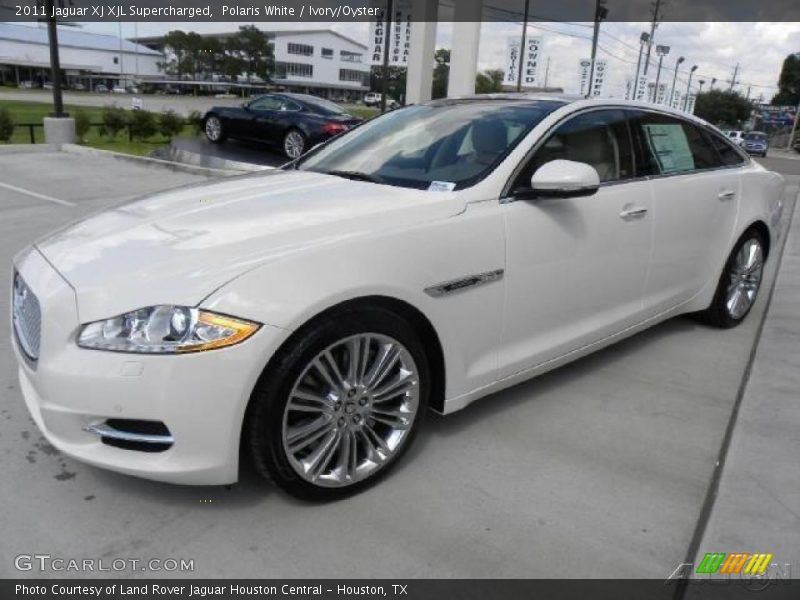 2011 jaguar xj xjl supercharged in polaris white photo no. Black Bedroom Furniture Sets. Home Design Ideas