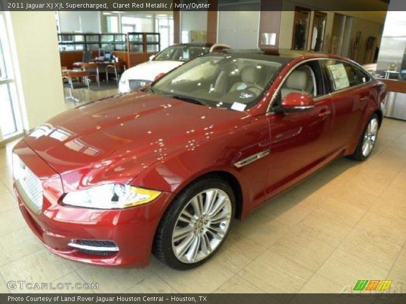 2011 jaguar xj xjl supercharged in claret red metallic. Black Bedroom Furniture Sets. Home Design Ideas