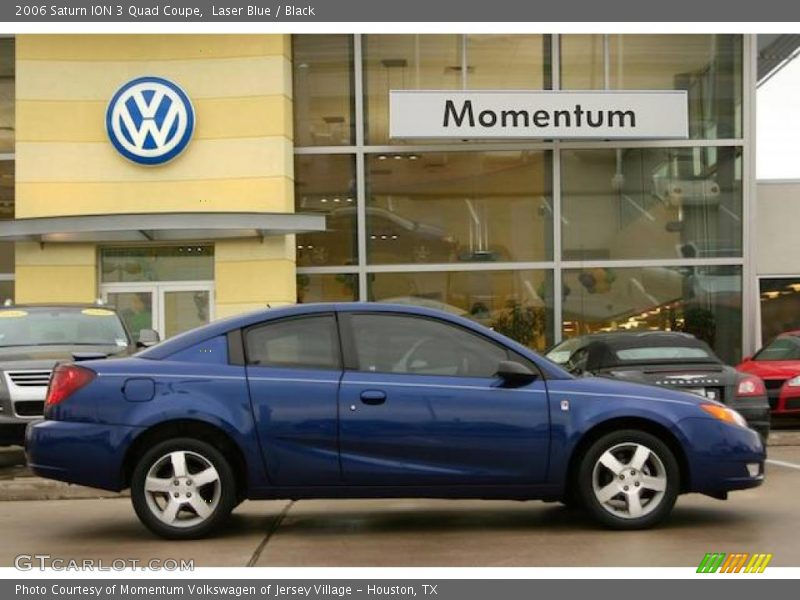 2006 Saturn ION 3 Quad Coupe in Laser Blue Photo No ...  Saturn Ion 2006 Blue