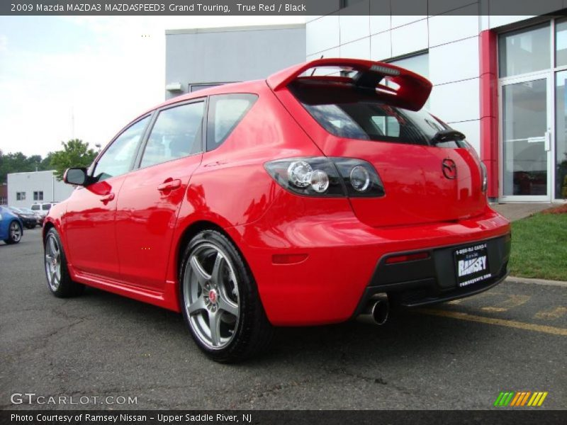 2009 mazda mazda3 mazdaspeed3 grand touring in true red. Black Bedroom Furniture Sets. Home Design Ideas