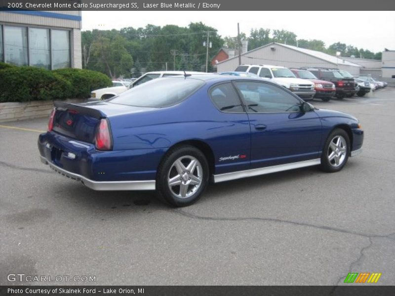 2005 chevrolet monte carlo supercharged ss in laser blue metallic photo no 34511403. Black Bedroom Furniture Sets. Home Design Ideas