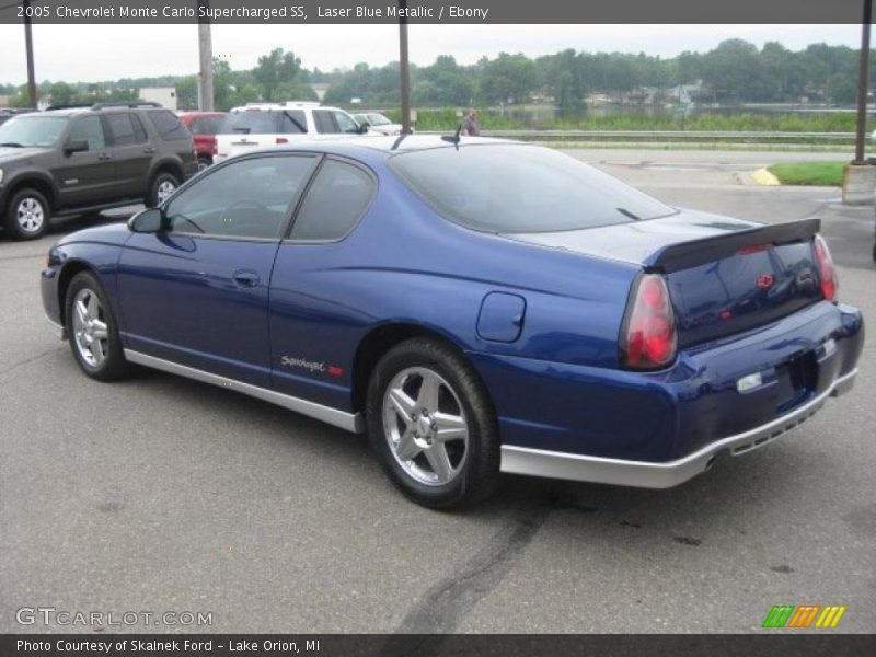 2005 chevrolet monte carlo supercharged ss in laser blue metallic photo no 34511423. Black Bedroom Furniture Sets. Home Design Ideas