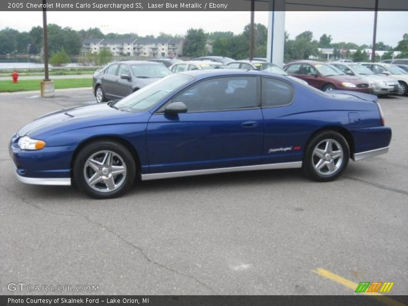 2005 chevrolet monte carlo supercharged ss in laser blue metallic photo no 34511435. Black Bedroom Furniture Sets. Home Design Ideas