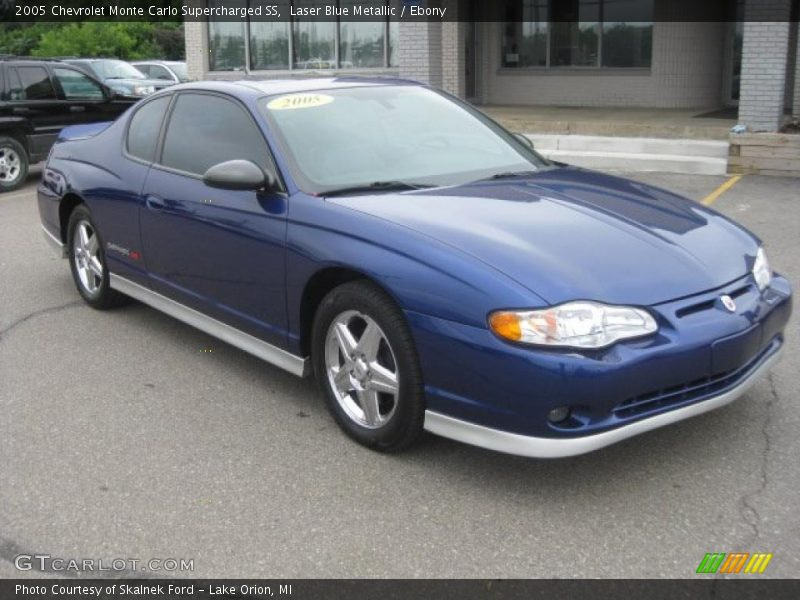2005 chevrolet monte carlo supercharged ss in laser blue metallic photo no 34511455. Black Bedroom Furniture Sets. Home Design Ideas