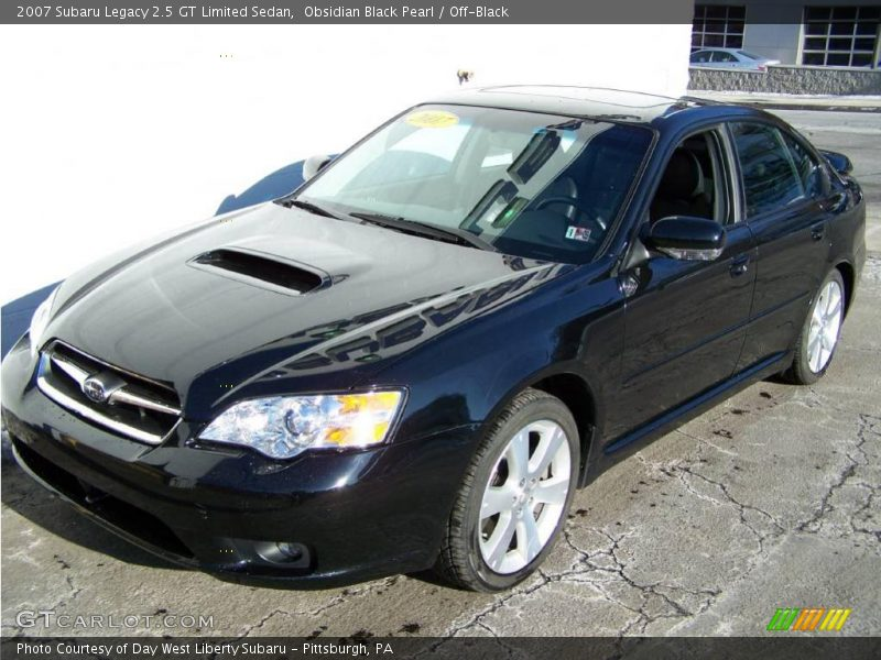 2007 Subaru Legacy 2 5 Gt Limited Sedan In Obsidian Black