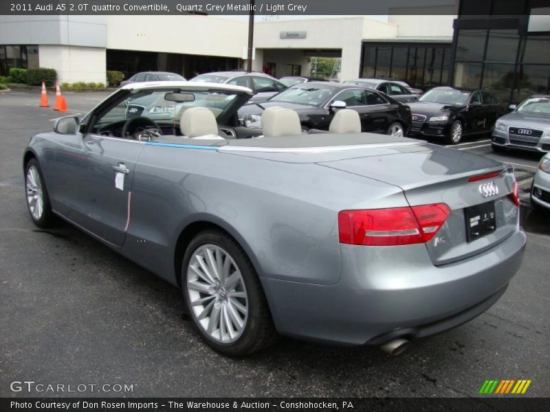 2011 Audi A5 2.0T quattro Convertible in Quartz Grey ...