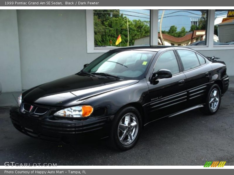 1999 pontiac grand am se sedan in black photo no 34765136. Black Bedroom Furniture Sets. Home Design Ideas