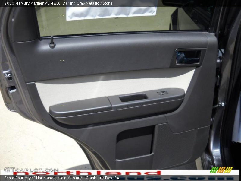Sterling Grey Metallic / Stone 2010 Mercury Mariner V6 4WD