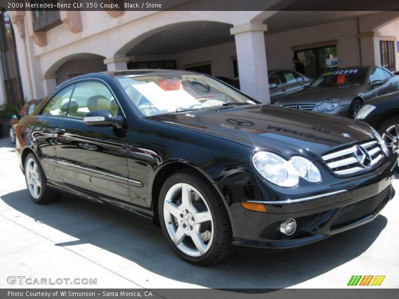 2009 mercedes benz clk 350 coupe in black photo no for G stone motors used cars