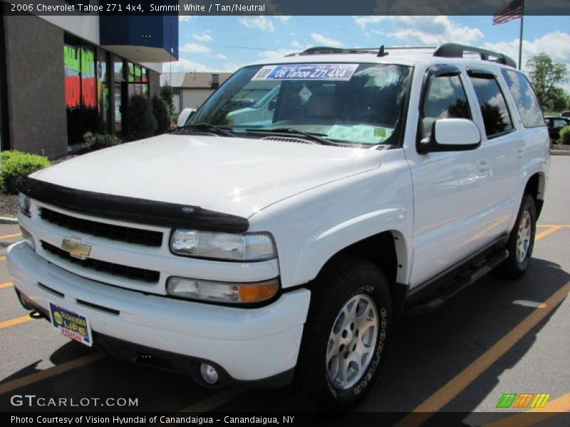 2006 chevrolet tahoe z71 4x4 in summit white photo no. Black Bedroom Furniture Sets. Home Design Ideas