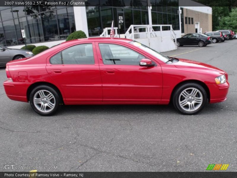 2007 volvo s60 2 5t in passion red photo no 34962933. Black Bedroom Furniture Sets. Home Design Ideas