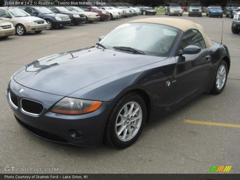 2004 Bmw Z4 2 5i Roadster In Toledo Blue Metallic Photo No