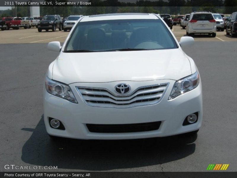 2011 toyota camry xle v6 in super white photo no 35201777. Black Bedroom Furniture Sets. Home Design Ideas