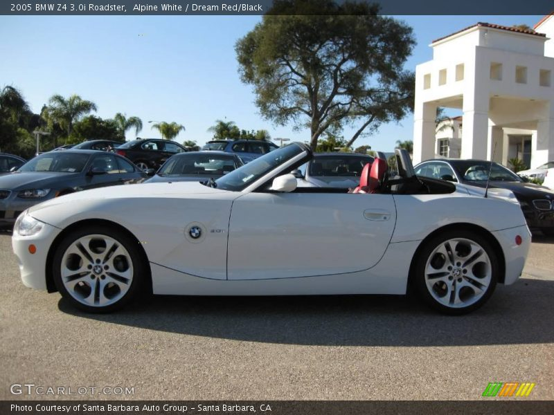 2005 Bmw Z4 3 0i Roadster In Alpine White Photo No