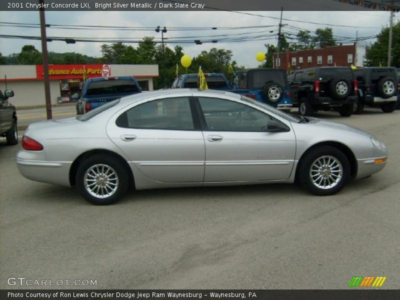 Bright Silver Metallic / Dark Slate Gray 2001 Chrysler Concorde LXi