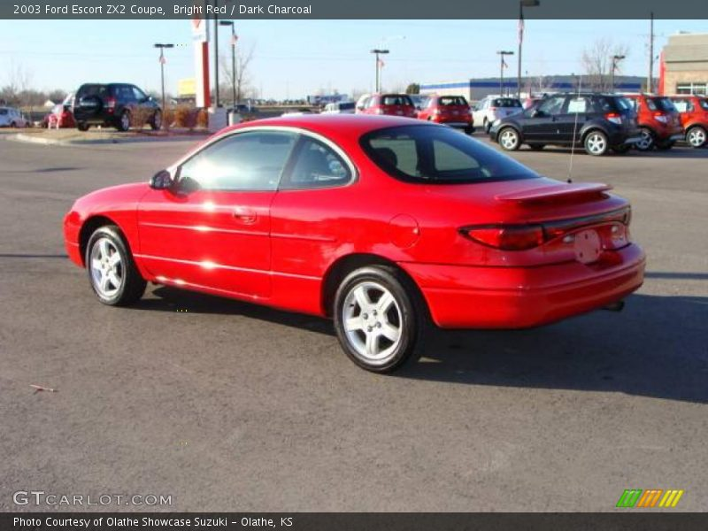2003 Ford Escort ZX2 Coupe in Bright Red Photo No. 3539458 | GTCarLot ...