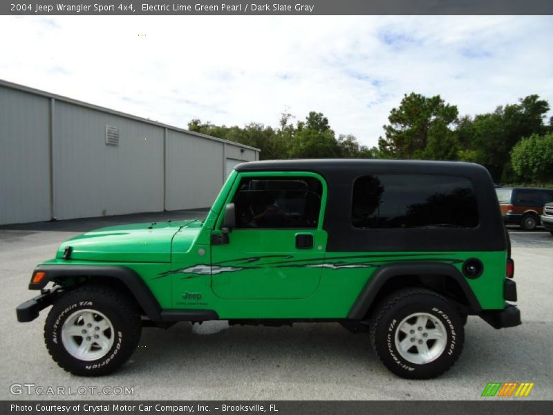 2004 jeep wrangler sport 4x4 in electric lime green pearl photo no 35451241. Black Bedroom Furniture Sets. Home Design Ideas