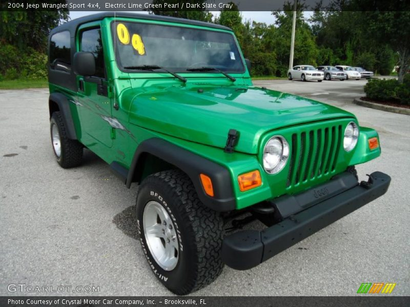 2004 jeep wrangler sport 4x4 in electric lime green pearl photo no 35451397. Black Bedroom Furniture Sets. Home Design Ideas