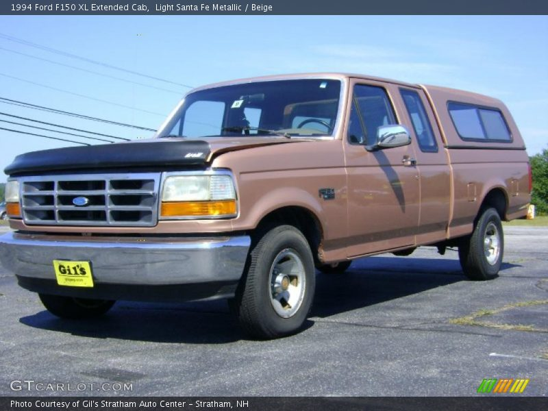 1994 Ford F150 Xl Extended Cab In Light Santa Fe Metallic