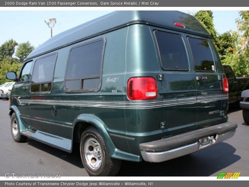 2000 dodge ram van 1500 passenger conversion in dark spruce metallic photo no 35675843. Black Bedroom Furniture Sets. Home Design Ideas