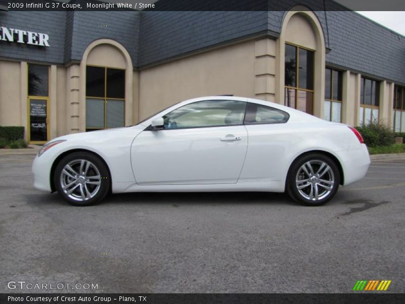 2009 infiniti g 37 coupe in moonlight white photo no for G stone motors used cars