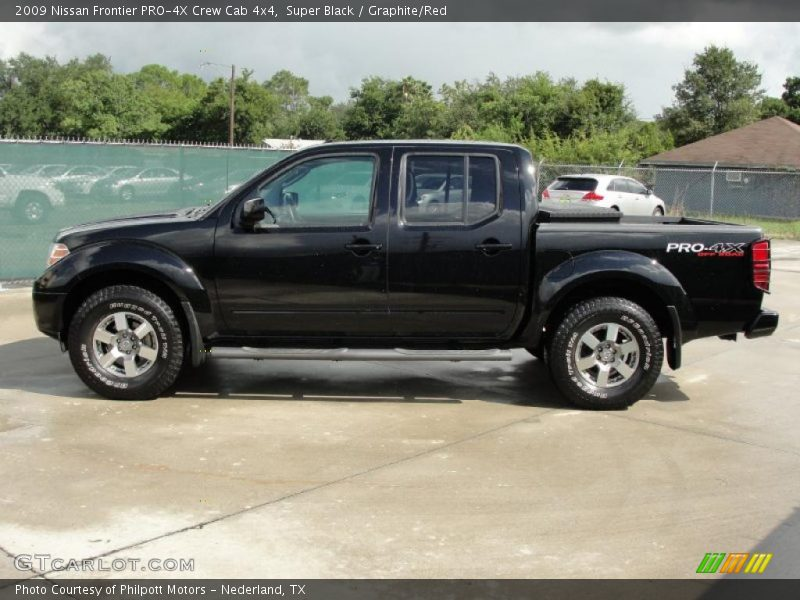 2009 nissan frontier pro 4x crew cab 4x4 in super black photo no 35986969. Black Bedroom Furniture Sets. Home Design Ideas