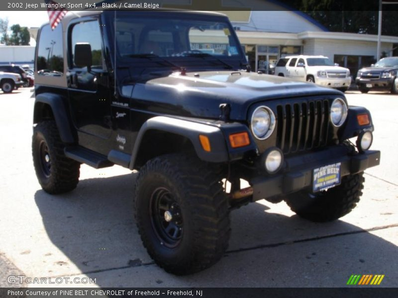 2002 jeep wrangler sport 4x4 in black photo no 36161390. Black Bedroom Furniture Sets. Home Design Ideas
