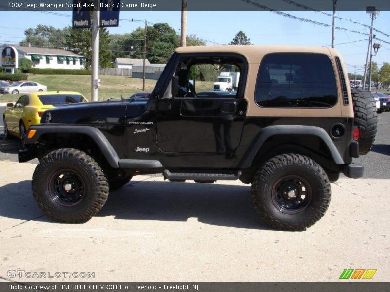 2002 jeep wrangler sport 4x4 in black photo no 36161454. Black Bedroom Furniture Sets. Home Design Ideas