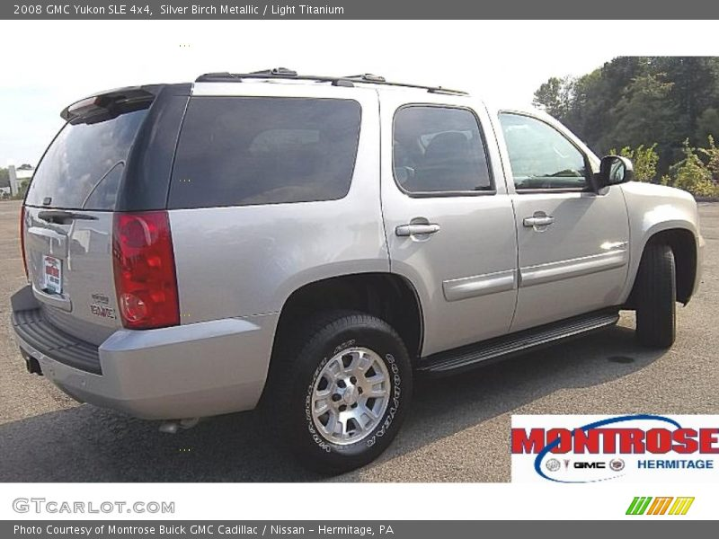 Silver Birch Metallic / Light Titanium 2008 GMC Yukon SLE 4x4
