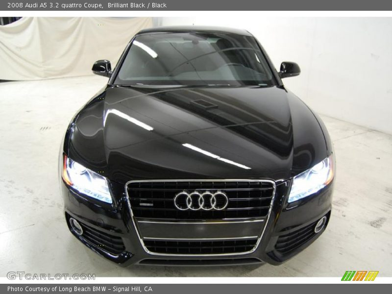 2008 audi a5 3 2 quattro coupe in brilliant black photo no. Black Bedroom Furniture Sets. Home Design Ideas