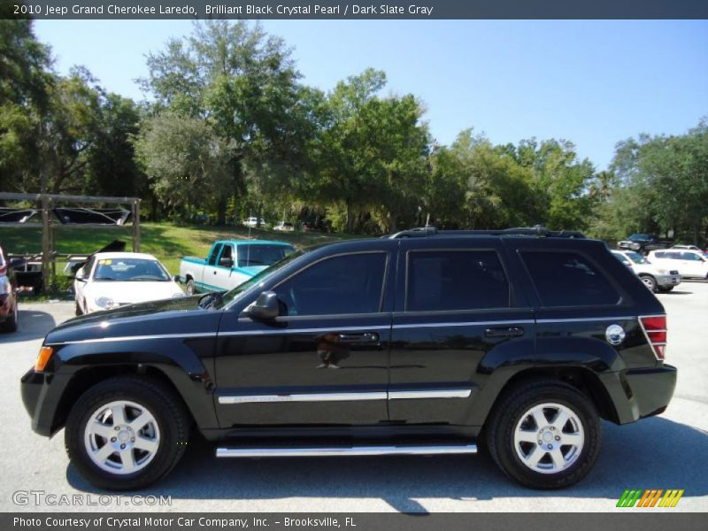 2010 jeep grand cherokee laredo in brilliant black crystal pearl photo. Cars Review. Best American Auto & Cars Review